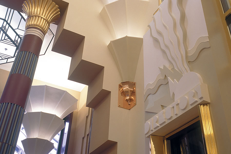 Bailey interiors architectural plaster cornice - What is art deco style ...