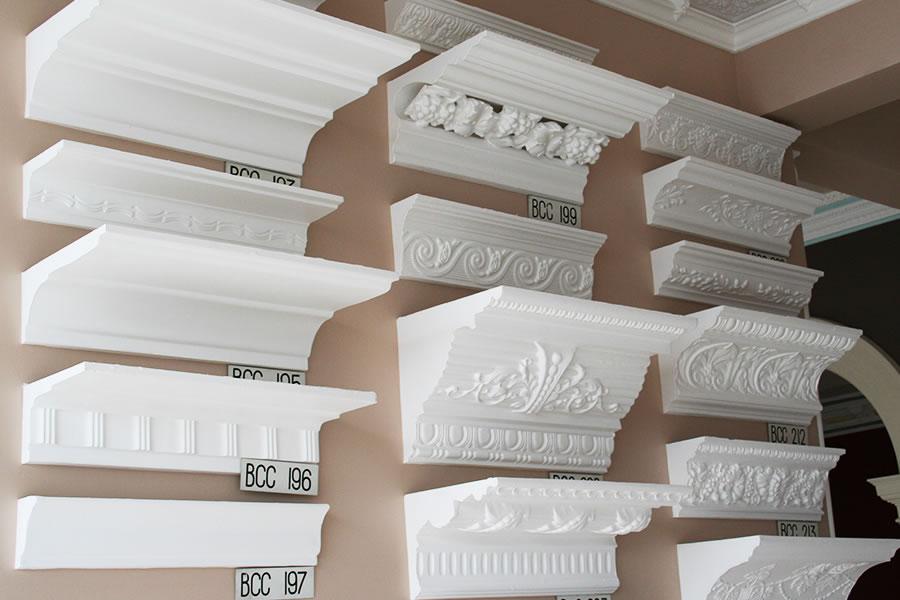 Plaster Cornice Showroom