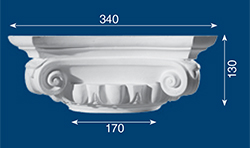 decorative plaster ornament