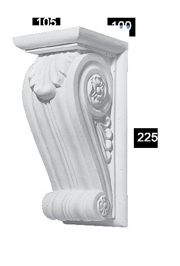 Sydney Plaster Corbel CB 30