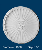 decorative plaster ceiling dome