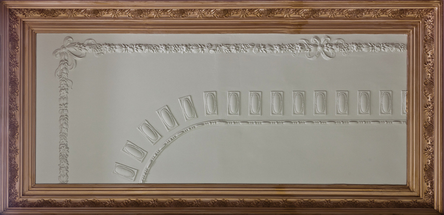 Plaster ceiling tiles